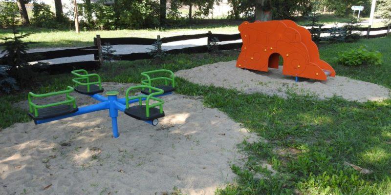 Modernizacja i rozbudowa placu zabaw- Gorzyca